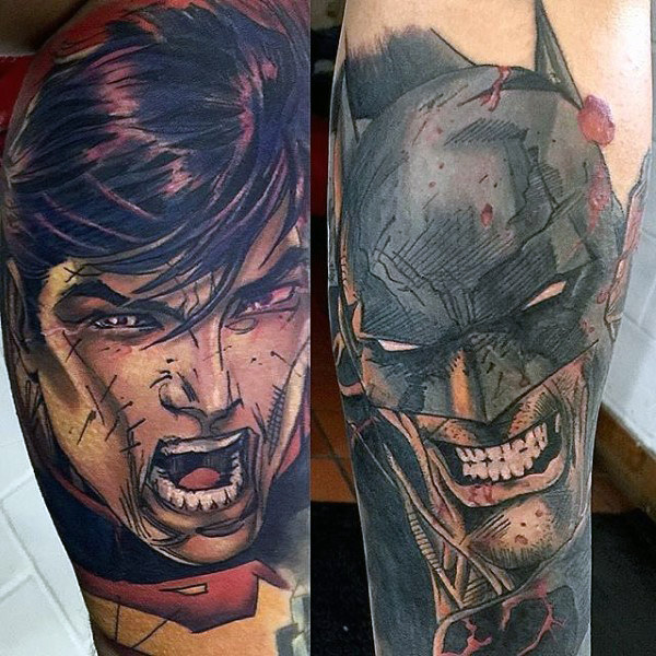 Tato Guys Batman Design Ideas