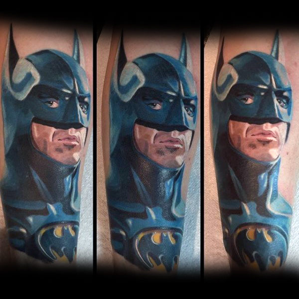 Potret Nyata Batman Tattoo Designs For Guys