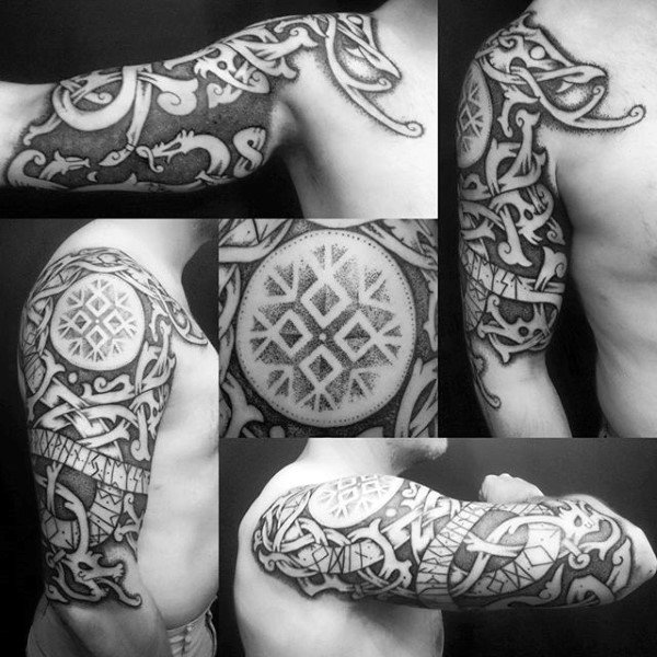 Erkek Arms Celtic Symbol Tattoo
