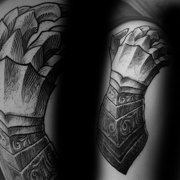 Tatuaggi maschili Gauntlet For Men