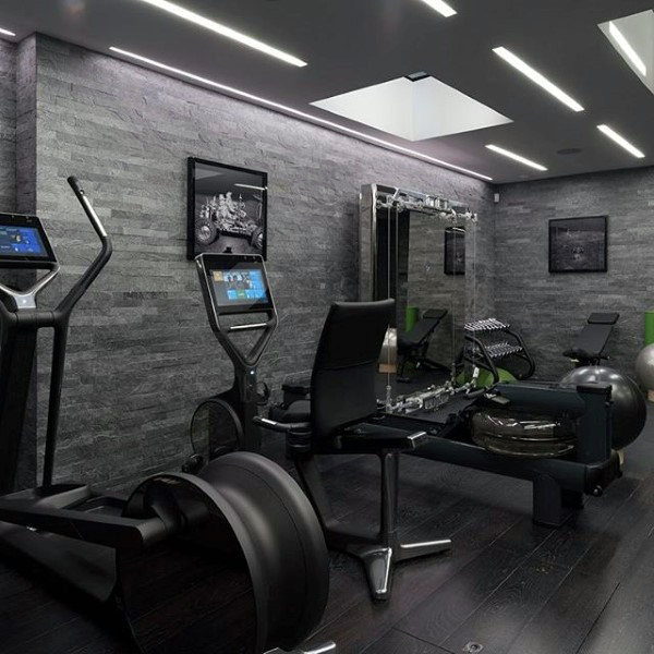 40 Personal Home Gym Design -Ideen F R M Nner
