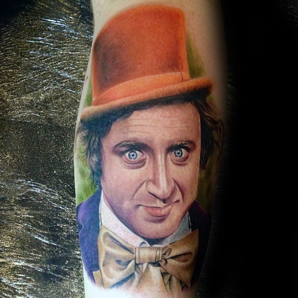 Jongens Willy Wonka Tattoo Designs