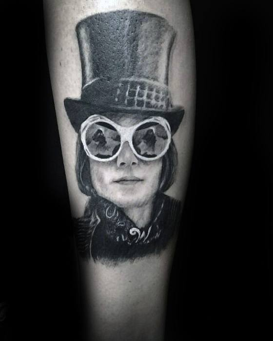 Jongens Willy Wonka Tattoos