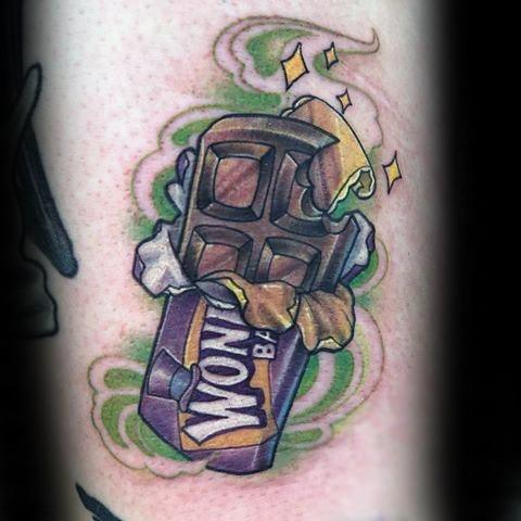 Awesome Willy Wonka-tatoeages voor heren