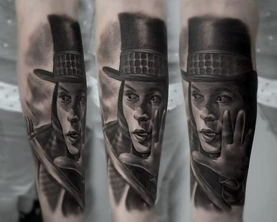 Willy Wonka Mens Tattoo Designs