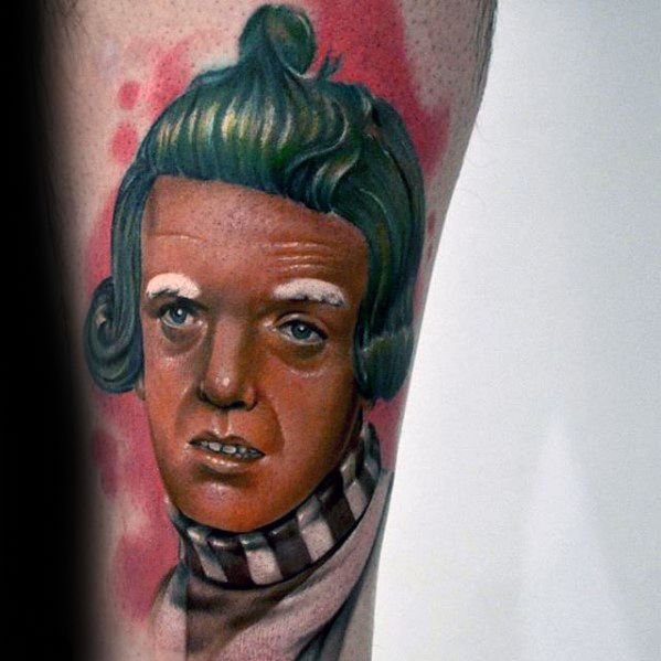 Willy Wonka Tattoos voor heren