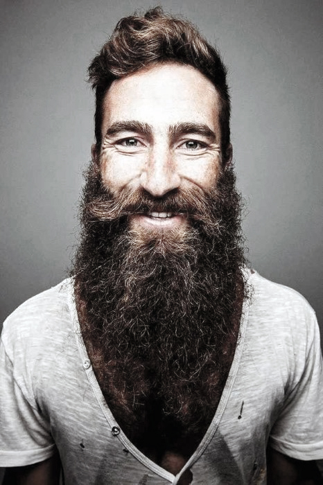 Guy Awesomone Beard Styles Idéias