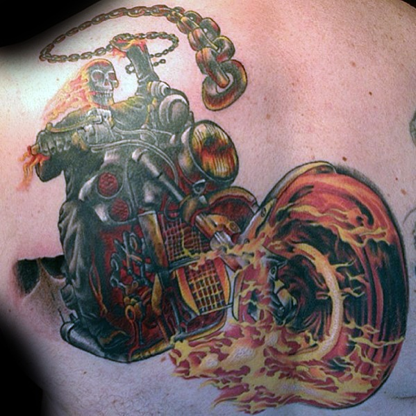 Ghost Rider Tattoos Jungs