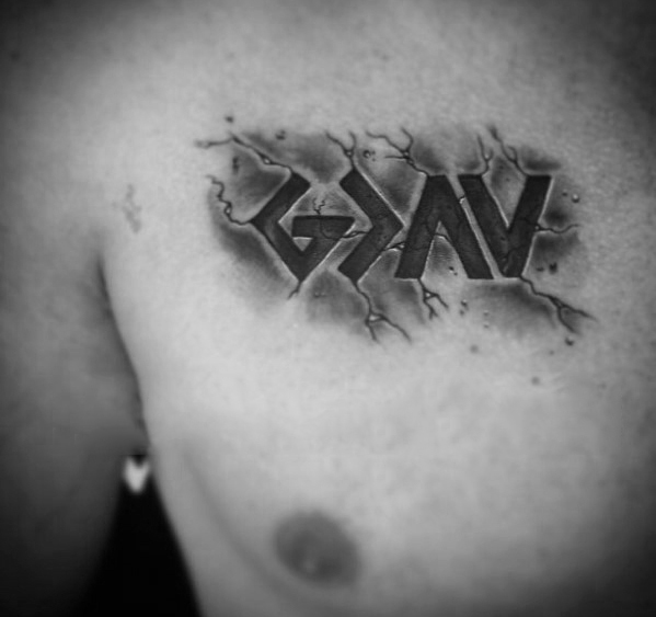 50 God Is Groter Dan De Highs And Lows Tattoo Ontwerpen Voor Mannen