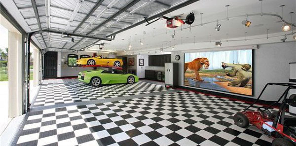 Awesome Man Cave Garageontwerpen