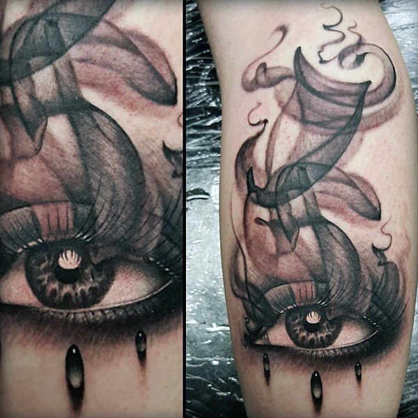 Kerel's Smoking Eye Tattoos