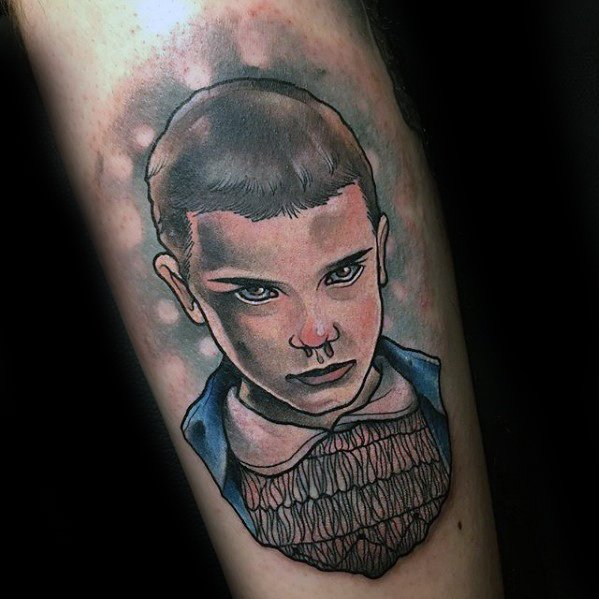 Male Stranger Things Tattoo Ideas