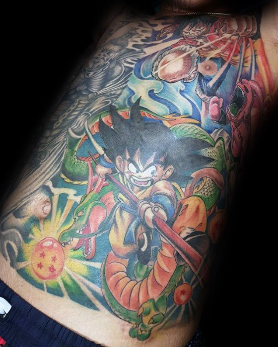 Volborst Anime Themed Guys Tattoo Designs