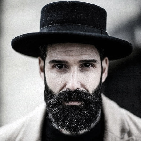 Mens Cool Beard Dapper 스타일 아이디어