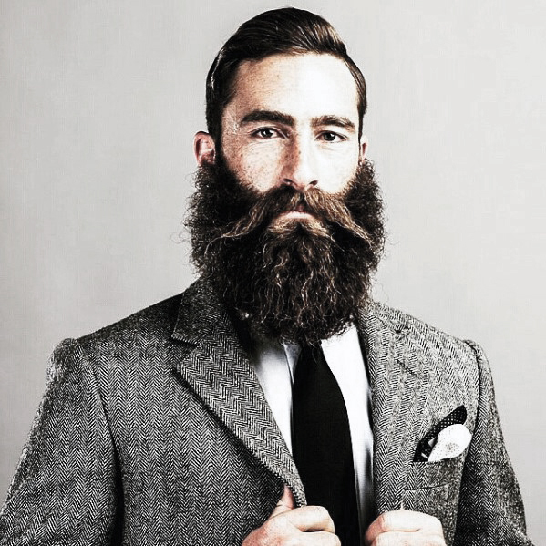 Mens Stylish 시원한 Cool Beard Trimmed Ideas