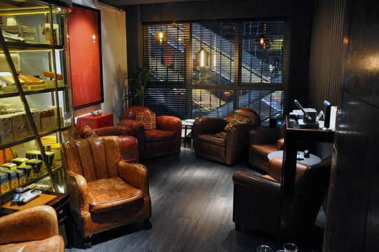 Skinnseter Sigarr Room Cool Man Cave Ideas