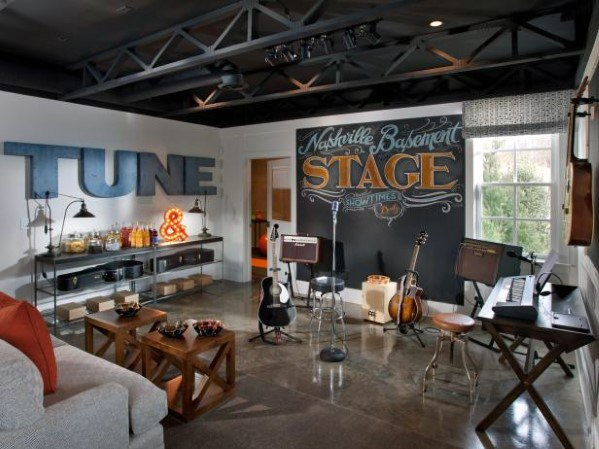 Musikkfase Cool Man Cave Ideas