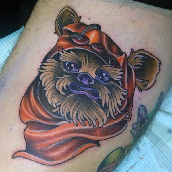 Ewok Mens Tattoo Ideas