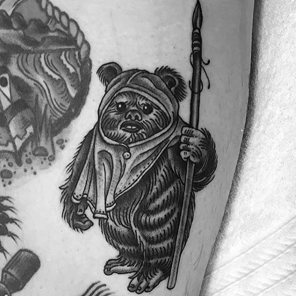 Ewok Tattoo Designs voor jongens
