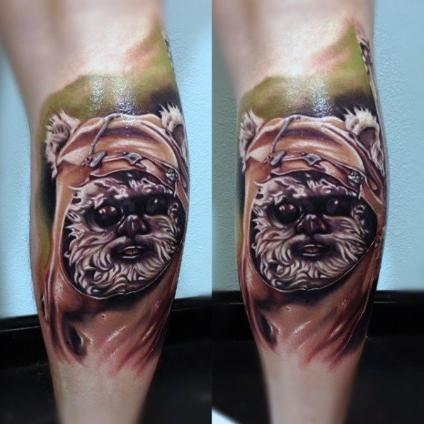Ewok Tattoo Ideas For Gentlemen