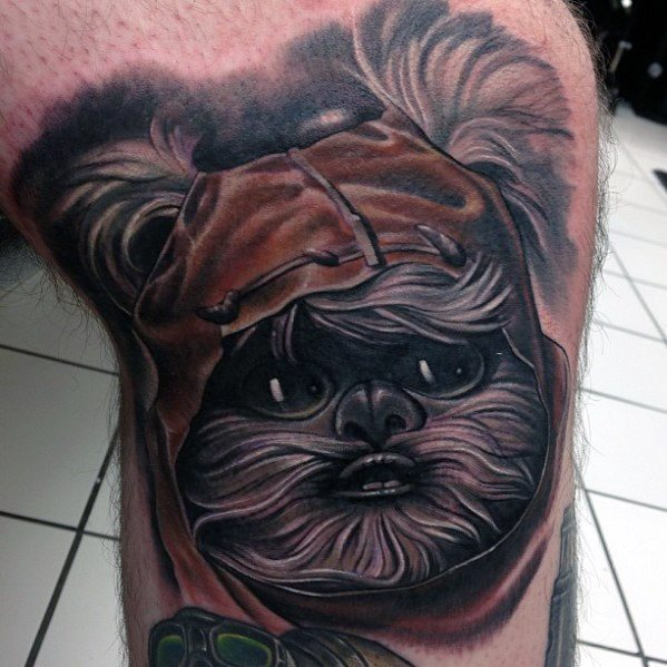 Ewok Tattoos Man