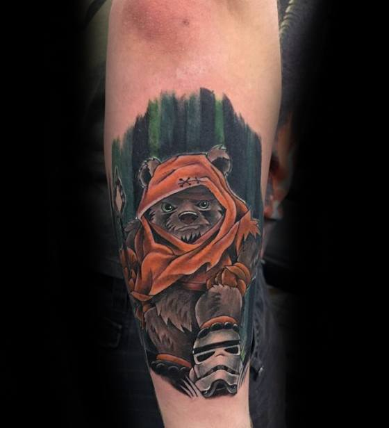 Ewok Tattoos Men