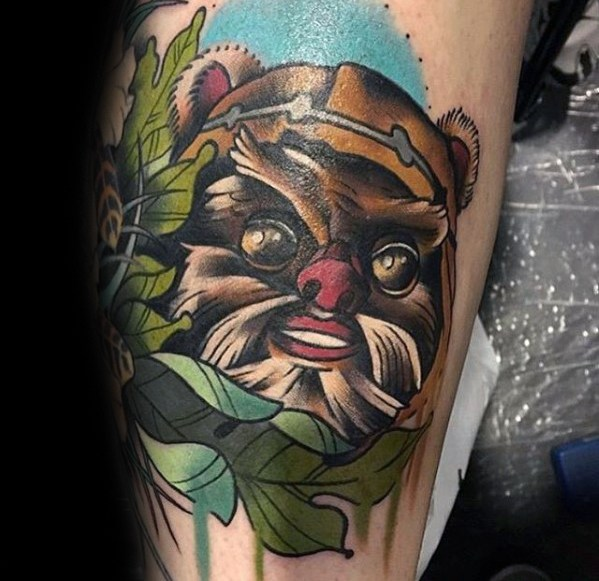 Ewok Guys Tattoo Designs