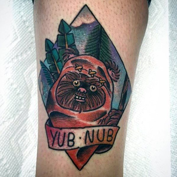 Ewok Guys Tattoo Ideas