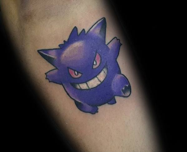 Herre Tattoo Gengar Design