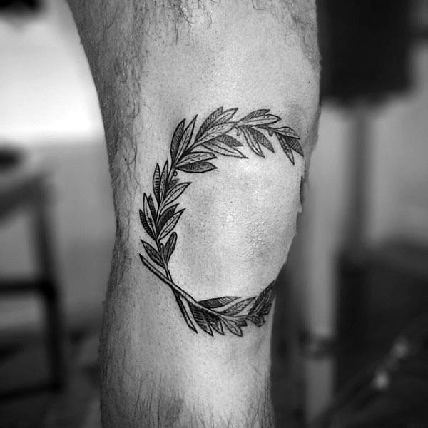 Łokieć Guys Olive Branch Tattoos