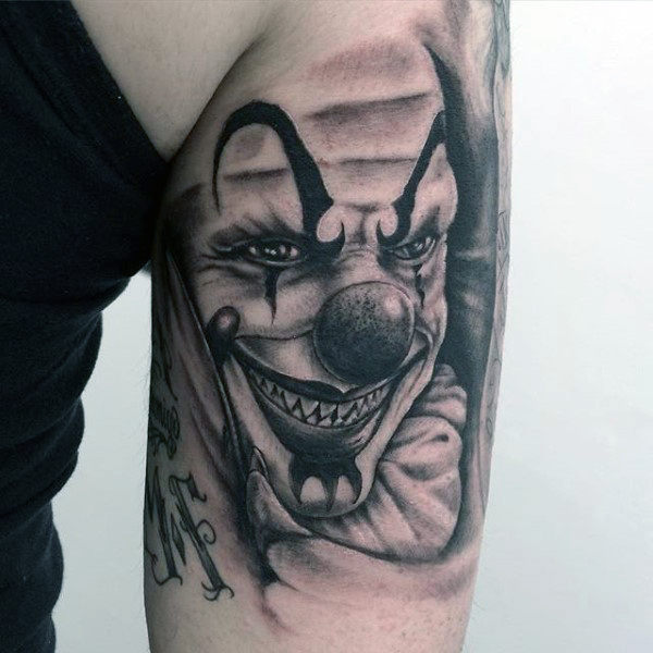 Tricep Guys Clown-tatoeages