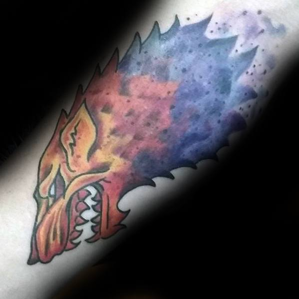 Guys Inner Arm Watercolor Game Of Thrones Pomysł na projekt Tattoo Inspiracje