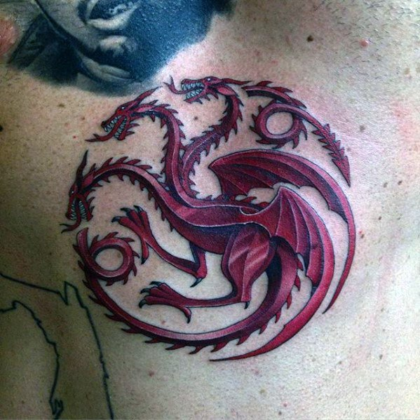 Guy Z Game Of Thrones Tattoo