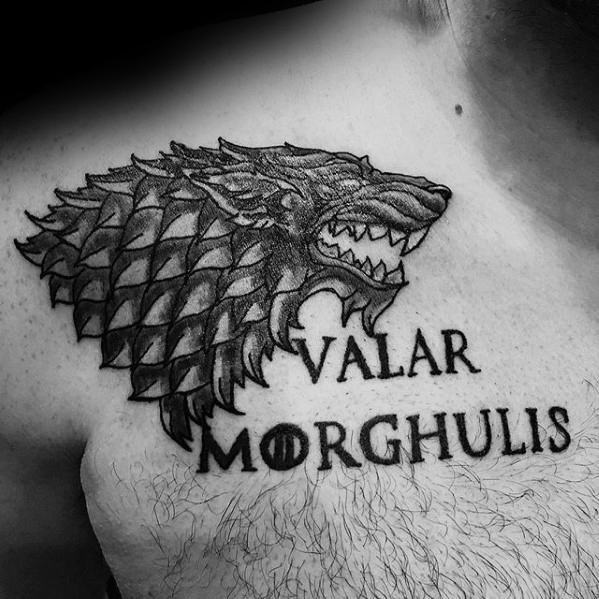 Ramię Wilk Game Of Thrones Guys Tattoo Designs