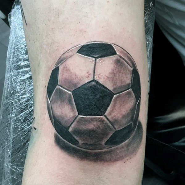 90 Fussball Tattoo Fur Manner Sportove Atramentove