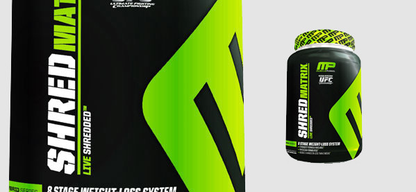 MusclePharm Shred Matrix Fat Burner Para Homens