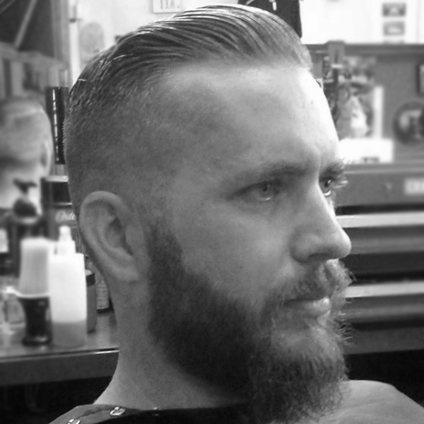 Comb Over Fade Haircut For Men 40 Mannelijke Kapsels