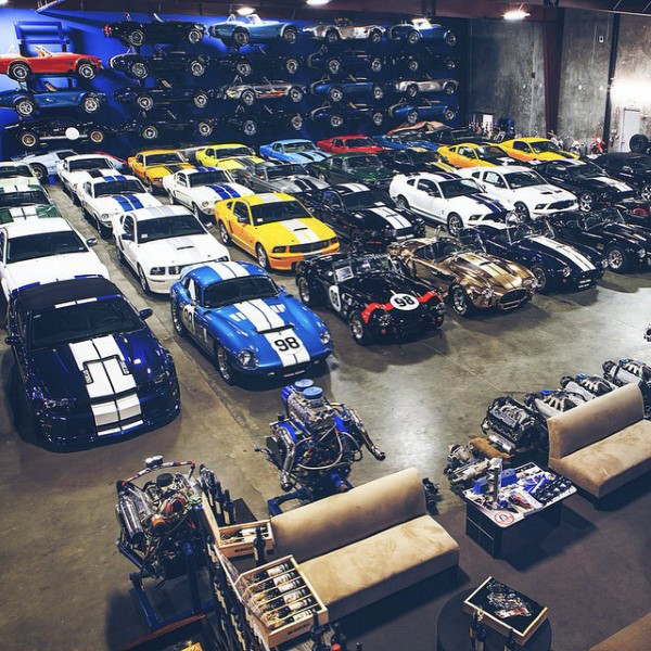 Dream Exotic Garage