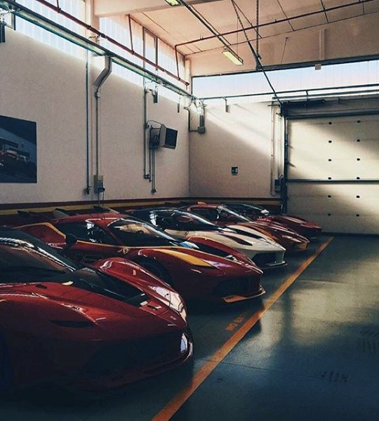 Kereta Exotic Line Up In Dream Garage