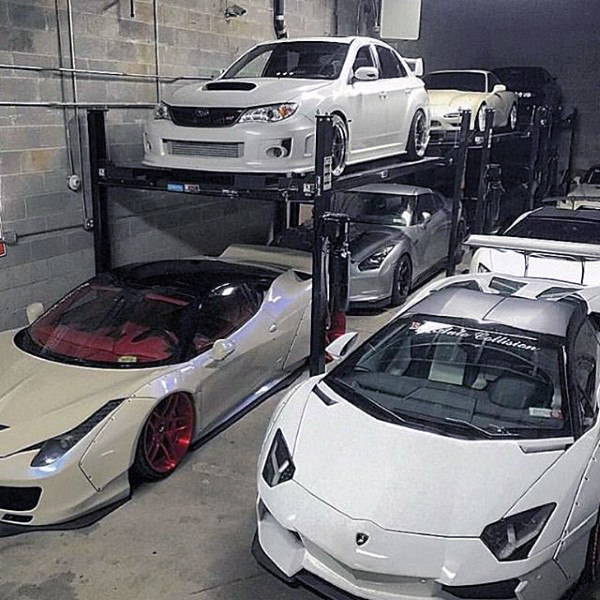 Incredible Luxury Dream Garage