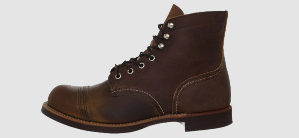 Homens's Red Wing Heritage Iron Ranger Winter Boots