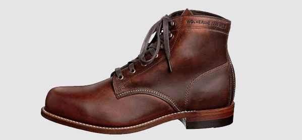 Homens's Wolverine 1000 Mile Original Rugged Casual Boots