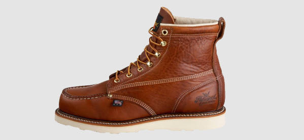 Homens's Thorogood 814 American Heritage 6-inch Moc Toe Winter Boots