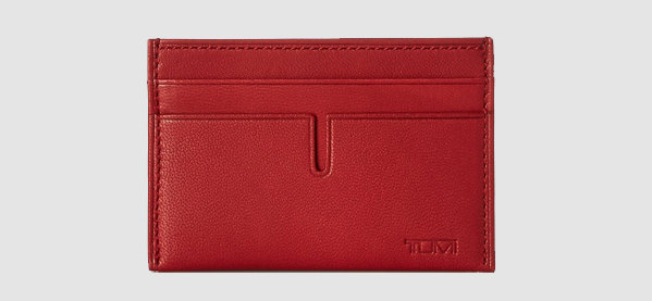 Tumi Chambers Slim Business Card Holder For Men