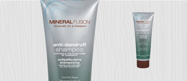 Mineral Fusion Anti Roos Shampoo voor mannen