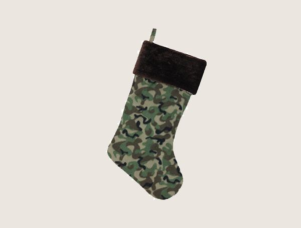 Northlight Camouflage Stocking Tactical Christmas