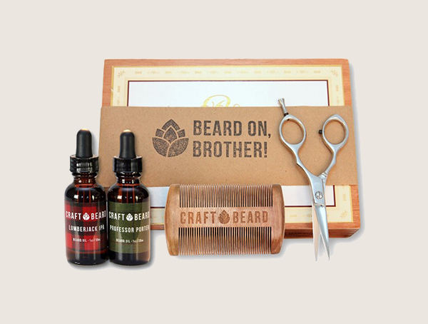 Craft Beard Premium Bărbați's Beard Grooming Kit