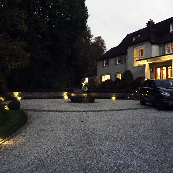 Awesome Gravel Driveway Lighting Ideas