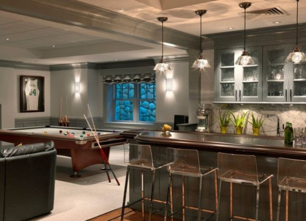 Basement Home Bar Design Plans