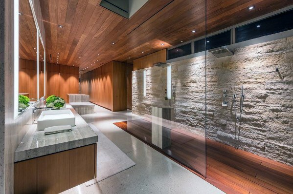 Awesome Dusj Stone Wall Lighting Ideas